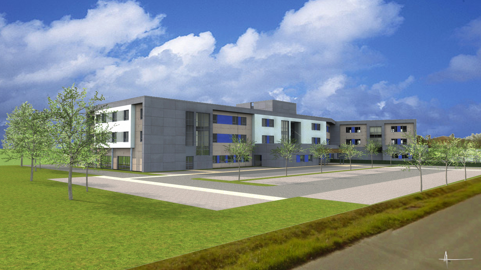 Korian's health complex specialising in post-acute care in Saintes (Charente-Maritime)