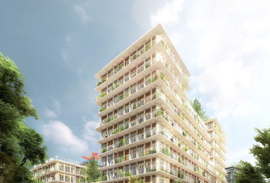 Best of Both - An ambitious mixed-use project in the Paris Rive Gauche development Zone